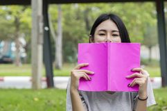 Asian female education, campus, friendship and people concept. Asian female education, campus, friendship and people concept group of happy teenage students stock images
