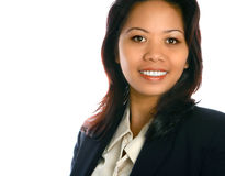Asian female executive Stock Image