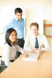 Asian Female Led Business Meeting Stock Photography