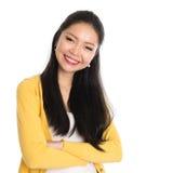 Asian female portrait Royalty Free Stock Photos