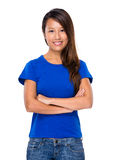 Asian female portrait Stock Images