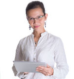 Asian Female Professional With Glasses IX Royalty Free Stock Photo