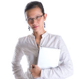 Asian Female Professional With Glasses VII Stock Photography
