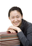 Asian female student Royalty Free Stock Photo