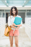 Asian female student Stock Photo