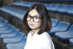Asian female student Royalty Free Stock Photo