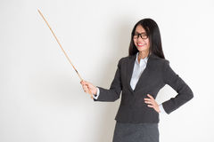 Asian female teacher Royalty Free Stock Photos