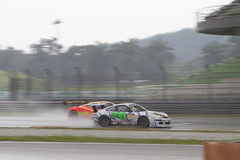 Asian Festival of Speed, GT Asia main race, Sepang Malaysia royalty free stock photos