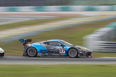 Asian Festival of Speed, GT Asia main race, Sepang Malaysia royalty free stock photography