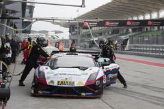 Asian Festival of Speed, GT Asia main race, Sepang Malaysia royalty free stock image