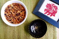 Asian festive dish still life Stock Photo