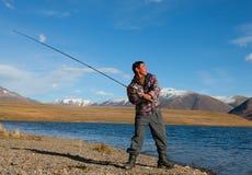 Asian fisherman Royalty Free Stock Image