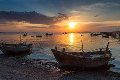 Asian fishermen Royalty Free Stock Images