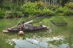 Asian fishing boat Royalty Free Stock Photography