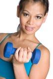 Asian Fitness Girl stock photo