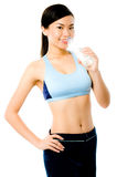 Asian Fitness Girl Royalty Free Stock Photography