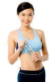 Asian Fitness Girl Royalty Free Stock Image