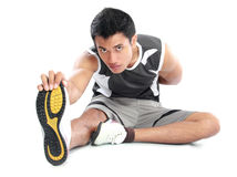 Asian fitness man Stock Images