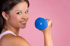 Asian Fitness Woman Stock Image