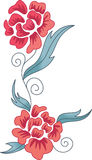 ASIAN FLORAL DESIGN Stock Photography