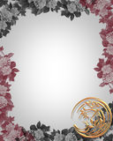 Asian Floral Design Template Royalty Free Stock Images