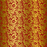 Asian floral pattern. Asian seamless floral pattern. Illustration Royalty Free Stock Images