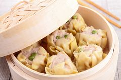 Asian food. Close up on dimsum Stock Images