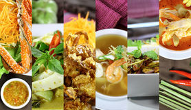 Asian Food. Restaurant Backgrounds royalty free stock image