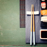 Asian food background Royalty Free Stock Photography