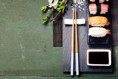Asian food background Royalty Free Stock Image
