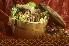 Asian food combo Stock Images