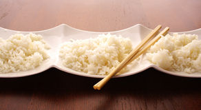 Asian food. cooked rice Royalty Free Stock Image