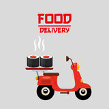 Asian food delivery Stock Photo