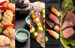 Asian food and drink Stock Photography