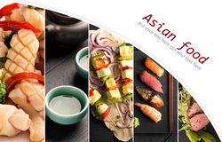 Asian food and drink Royalty Free Stock Photography