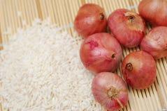 Asian food ingredients Royalty Free Stock Photos