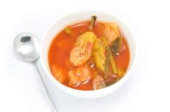 Asian Food Isolated on White Background Stock Image