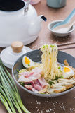 Asian food japanese ramen noodle Stock Images