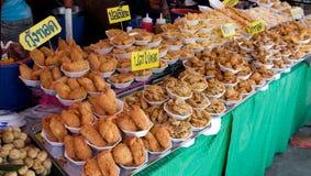 Asian food market Stock Photos