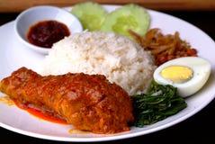 Asian food-Nasi Lemak Stock Photography