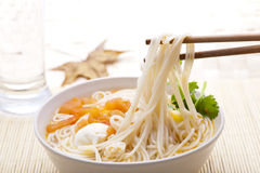 Asian food - noodles Stock Images