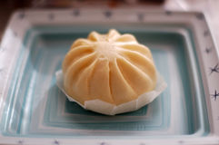 Asian Food Steamed Pork Bao Dim Sum Buns Royalty Free Stock Photos