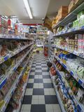 Asian food store Stock Photo