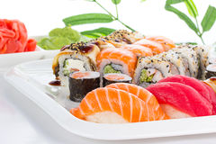Asian Food. Sushi. Royalty Free Stock Photography