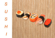 Asian food sushi Stock Photography