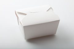 Asian food takeout container Royalty Free Stock Photography