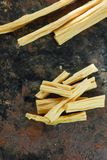Asian food: yuba or fuju sticks - vegetarian stuff. Asian food: yuba or fuju sticks - vegetarian stuff Stock Images