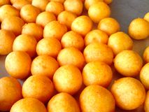 Asian foods. Desserts turtle eggs are eaten in Thailand Royalty Free Stock Photography