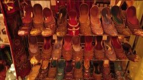 ASIAN FOOTWEAR STYLE. ASIAN FOOTWEAR FASHION stock video
