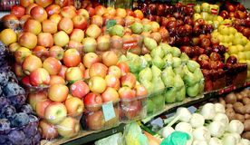 Asian fresh fruits Stock Images